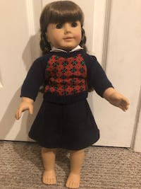 Girl in black and white dress doll Fairfield, 94533