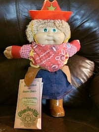 Cabbage Patch Kids- cowgirl doll circa 1985 Worthing, 57077
