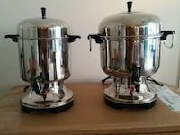two stainless steel cooking pots Freehold, 07728