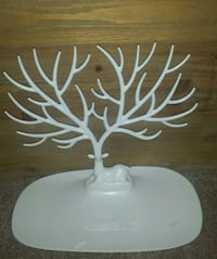 TableTop Deer/Antler Jewelry Tree/Tray