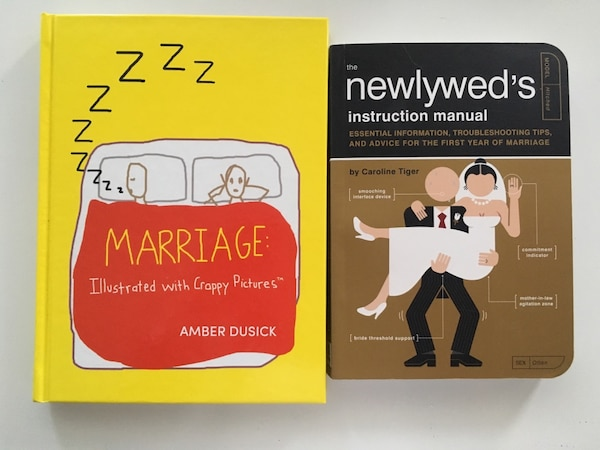 Funny Marriage and Newlywed Books