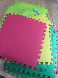 20pcs variety of colours kids playmats Brampton, L6Z 1J6
