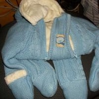 12 month snowsuit, plush lined..firm price Corbyville
