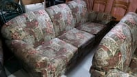 gray and pink floral fabric sofa Vaughan, L0J 1C0