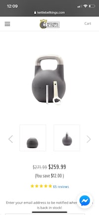 Adjustable Kettlebell Kings