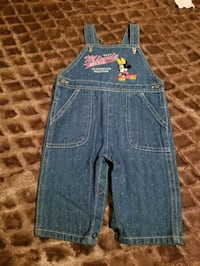 New baby girl Minnie Mouse Overall 6/9 Months Riverside, 92507