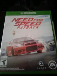 Need for Speed Rivals Xbox One game case Spokane Valley, 99206