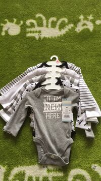 Newborn 5 pack long sleeve onesies (Cat and Jack) Germantown, 20874