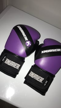 Boxing gloves only wore for one hour  607 km