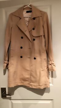 brown double-breasted coat Toronto, M5P 1M7