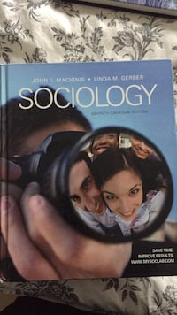 Hard cover Sociology textbook Guelph, N1G