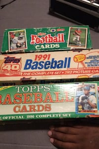 Baseball and football collectible cards Hyattsville, 20784