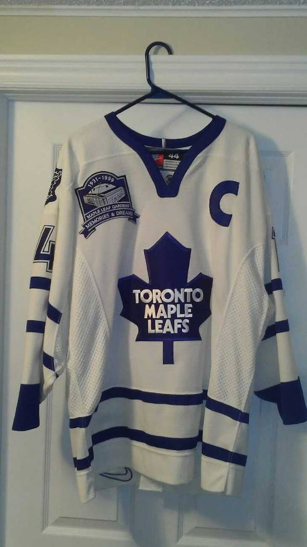 quality design 574a4 a54ee Rare Authentic Toronto Maple Leafs jersey