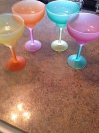 Colorful margarita glasses they are glasses just in time for summer Nicholasville, 40356