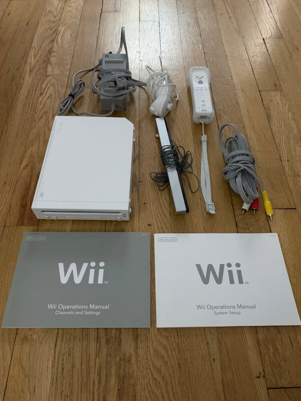 Nintendo Wii - Operational; As Is - No Wii Sports - Single Controller af097c6d-e2bc-4410-9efc-936dff069578