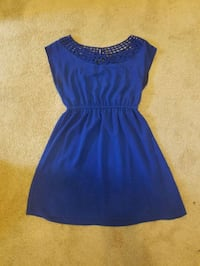 blue scoop neck sleeveless dress Washington, 20011