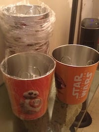 Star Wars popcorn cans only 2 left 5.00 each  New York, 10019