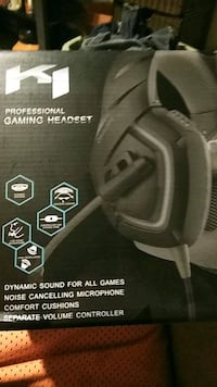 Brand new in the box never used gaming headset  46 mi