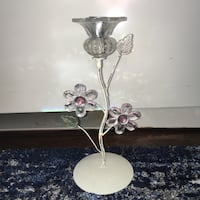 Decorative flower candlestick holder Arlington, 22202