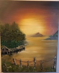 16x20  oil painting by local Artist Hendersonville, 37075