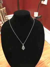 Protection again evil eye hamsa necklace and pendant  Oakville, L6H 1Y4