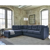 New blue sectional! Other couch and Loveseat saves here Indianapolis, 46240