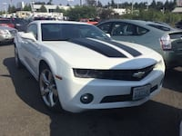 2011 Chevy Chevrolet Camaro V6 CARFAX Low Miles Leather Seats Fuel Vancouver, 98662
