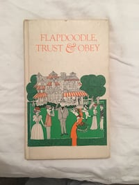 Flapdoodle, Trust & Obey Vintage Book Baltimore, 21218