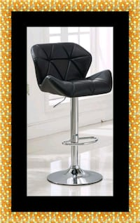 Black bar stool Adelphi