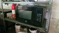 black and gray microwave oven Highland, 12528