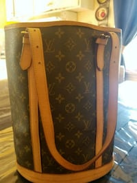brown and black Louis Vuitton leather tote bag San Jose, 95128