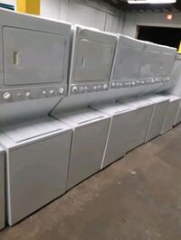 STACKABLE WASHER AND DRYER COMBO WORKING PERFECTLY 4 MONTHS WARRANTY  Baltimore, 21201