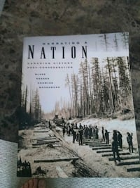 Canadian history textbook Brant