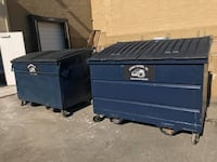 dumpster rental trash bin waste recycling disposal haul away  Whittier, 90606