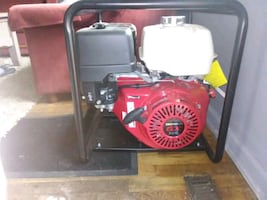 "BE 2"" high pressure pump with honda engine"