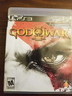 sony ps3 god of war 3 game case