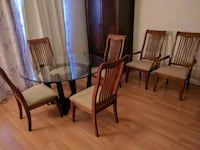 Table and 6 chairs dining room set Duluth, 30096