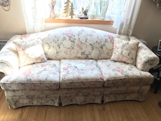 Beautiful Floral Couch