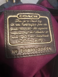 Coach shoulder bag Ham Lake, 55304