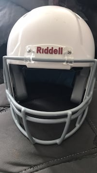 White  youth riddell football helmet Hagerstown, 21740