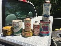 Old cans for deco Millville, 08332