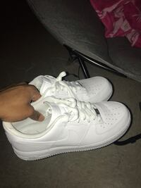 Size 13 White Nike Air Force 1 (never worn) Greenville, 27858