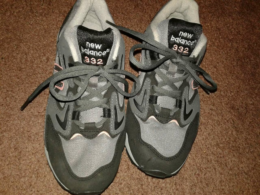 gray-and-black New Balance shoes - Ferndale