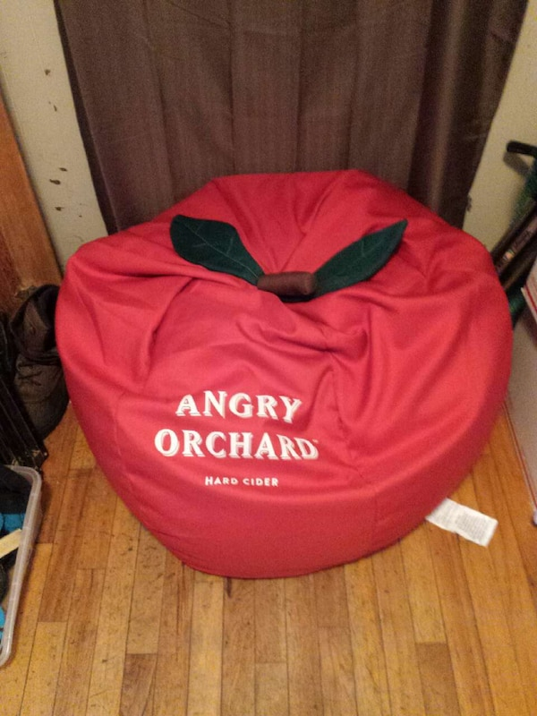 Angry Orchard Apple Bean Bag Chair