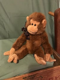 NEW Collectible Retired Boyd's 12 Inch Fully Jointed Stuffed Monkey Darwin Colorado Springs, 80920