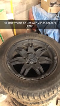 18 inch wheels came off of a Chevy 1500 Bristow, 20136