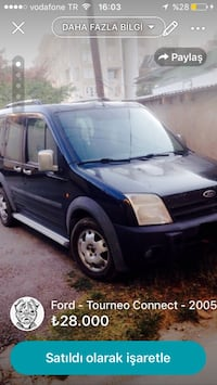 Ford - Tourneo Connect - 2005 İpekyolu, 65100