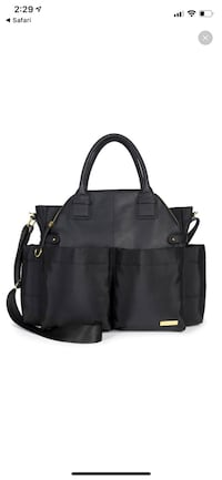 Black diaper bag brand new Silver Spring, 20902