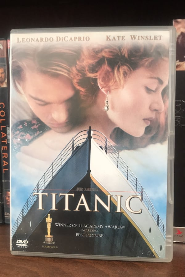Titanic DVD Film 0