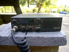 Cobra 18 Ultra weatherband CB Radio for truck or car, with a Shure mic
